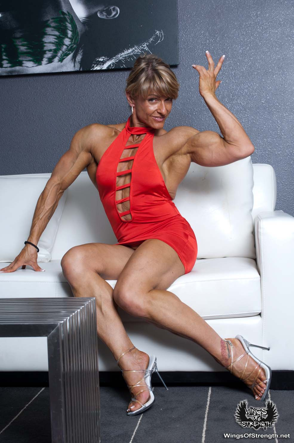 Emery Miller Modeling Her Ripped Physique | Female Muscle