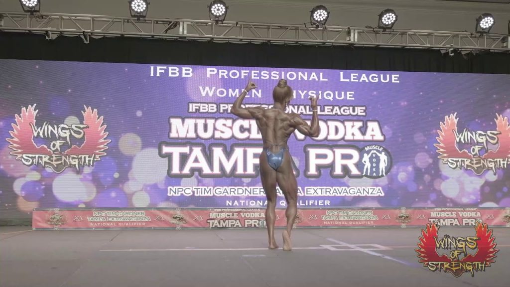 Physique Katherine Hall Posing Routine