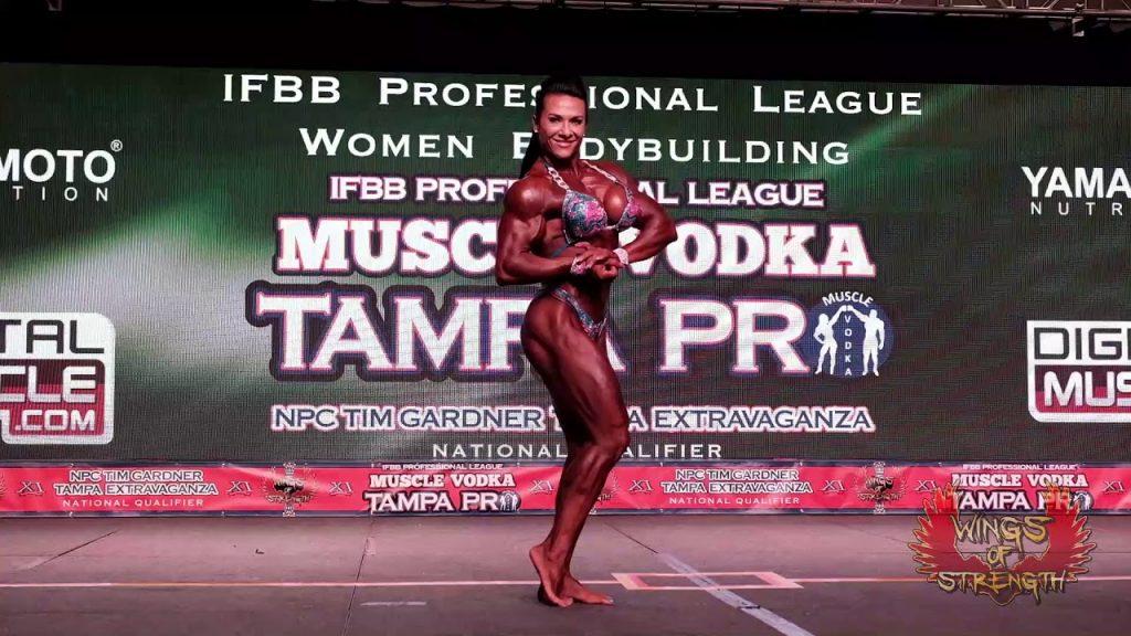 Women's Bodybuilding Alina Popa Posing Routine
