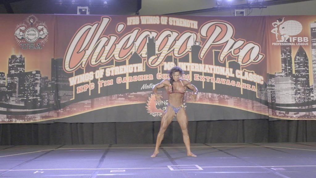 Heavyweight Tina Williams Posing Routine