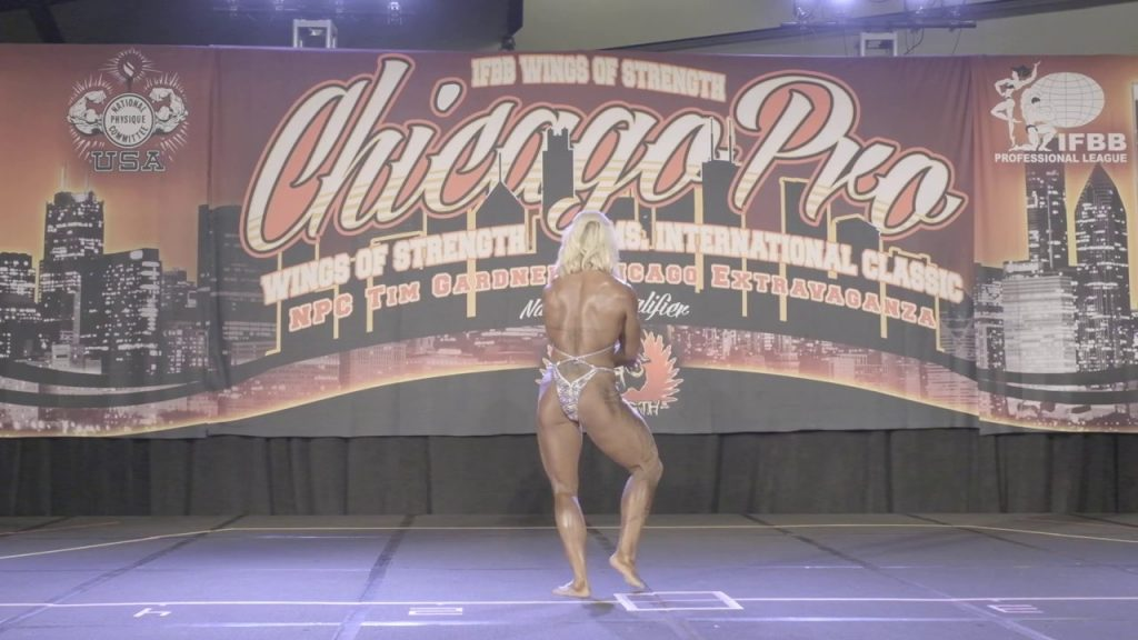 Middleweight Awards and Heavyweight Noelle Rockwell Posing Routine