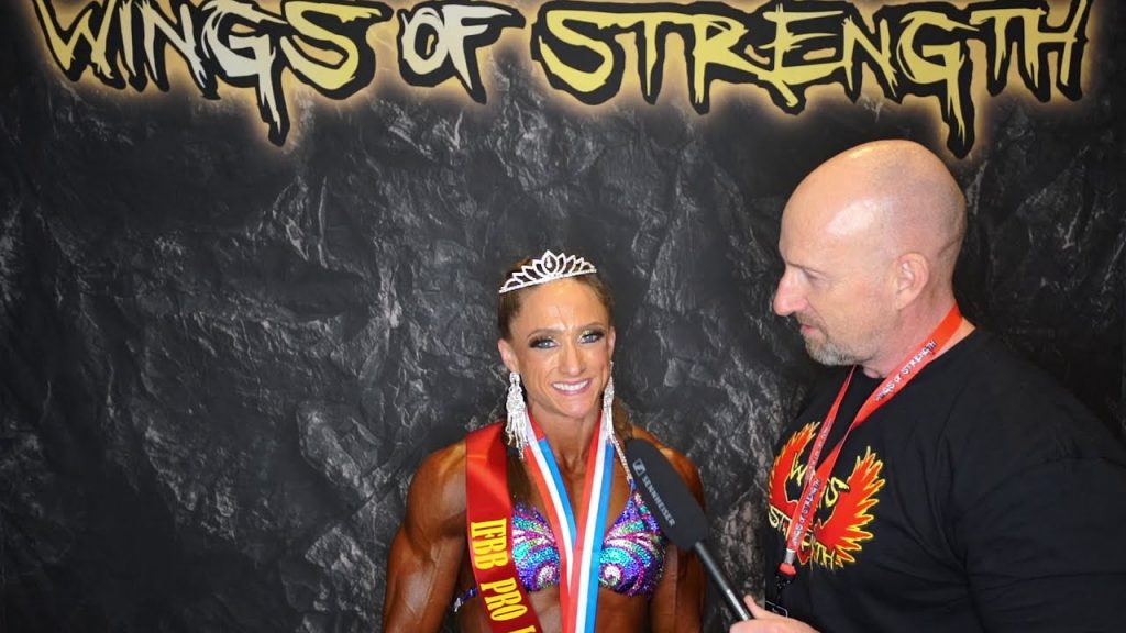 Women's Physique Winner - Melissa Teich