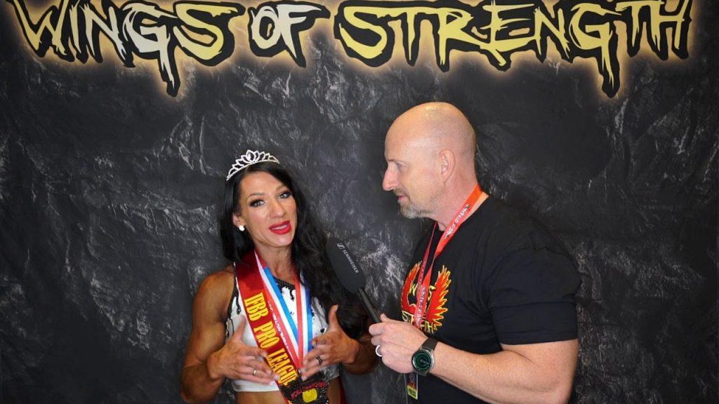 Fitness Winner - Aurika Tyrgale